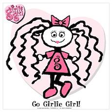Go Girlie Girl Poster