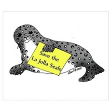 Save the Seals Poster