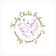 Holy Child Heart Poster