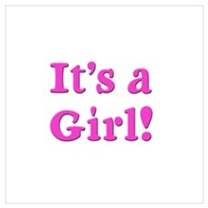 It's A Girl! Poster