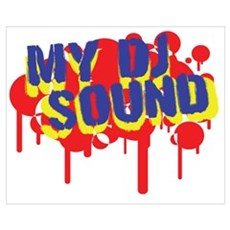 My DJ Sound Poster