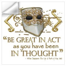 King John Quote Wall Decal