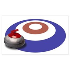 CURLING Canvas Art