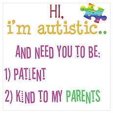 Autism Awareness Tee Poster