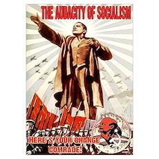 communist obama Poster