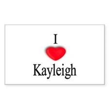Kayleigh Rectangle Decal