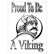 Proud To Be A Viking Framed Print