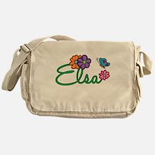 Elsa Flowers Messenger Bag