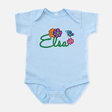 Elsa Flowers Infant Bodysuit
