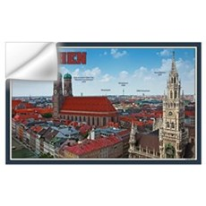 Munich Cityscape Wall Decal