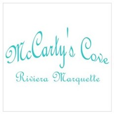 McCarty's Cove Riviera Marque Canvas Art