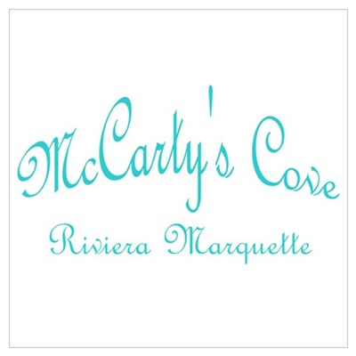 McCarty's Cove Riviera Marque Poster