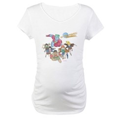 By Our Powers Combined Maternity T-Shirt