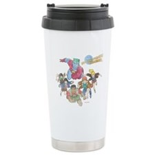 By Our Powers Combined Travel Coffee Mug