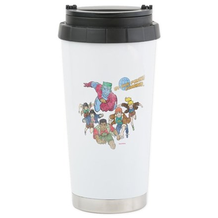 By Our Powers Combined Travel Mug