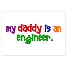 My Daddy Is An Engineer (PRIMARY) ri Framed Print