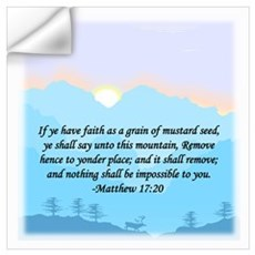 """Mustard Seed"" Wall Decal"