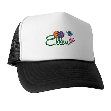 Ellen Flowers Trucker Hat