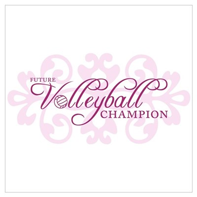 Ambition Volleyball Framed Print