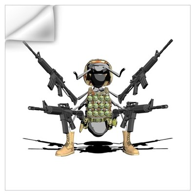Army Ant Wall Decal