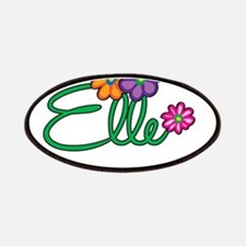 Elle Flowers Patches