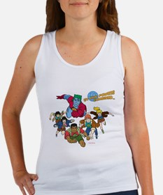 Captain Planet Powers Women's Tank Top