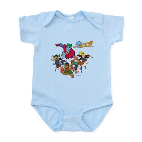 Captain Planet Powers Infant Bodysuit