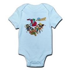 Captain Planet Powers Infant Bodysuit