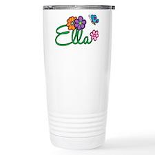 Ella Flowers Travel Mug