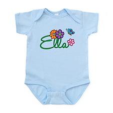 Ella Flowers Infant Bodysuit