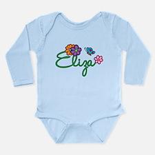 Eliza Flowers Long Sleeve Infant Bodysuit