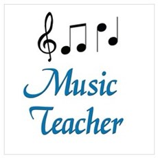 Music Teacher Poster
