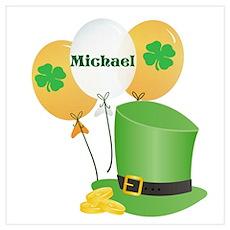 Michael Lucky Irish Poster
