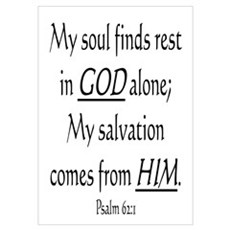 MY SOUL FINDS REST IN GOD ALO Poster