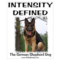 GSD Intensity Defined Poster