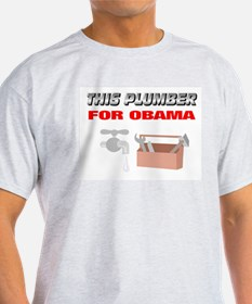 This plumber for Obama T-Shirt