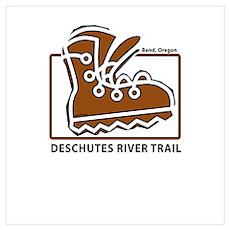 Deschutes River Trail Poster