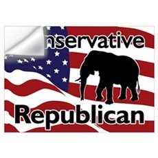 Conservative Republican Wall Decal
