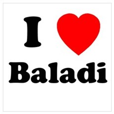 I heart Baladi Poster