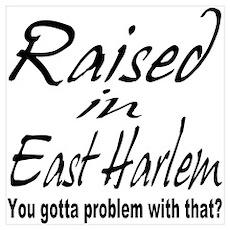 East harlem Poster