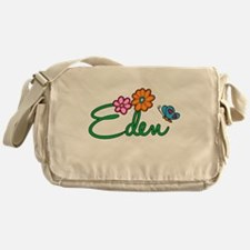 Eden Flowers Messenger Bag