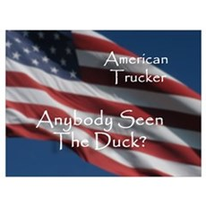 Seen The Duck? Poster