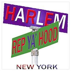 REP HARLEM Poster