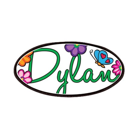 Dylan Flowers Patches