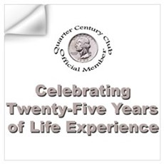 Quarter Century Wall Decal