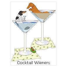 BT Piebald, Red Cocktail Wien Poster