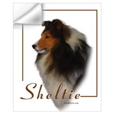 Sheltie-1 Wall Decal