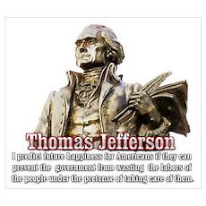 Thomas Jefferson founding father Poster