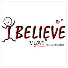 i BELIEVE in LOVE! Poster