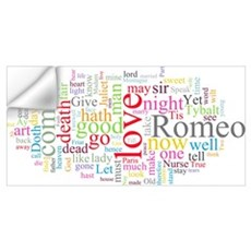 Romeo & Juliet Wall Decal